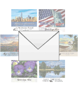 GREAT DESTINATIONS Wall Calendar Envelopes