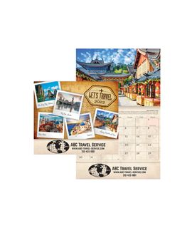 LET'S TRAVEL Wall Calendars