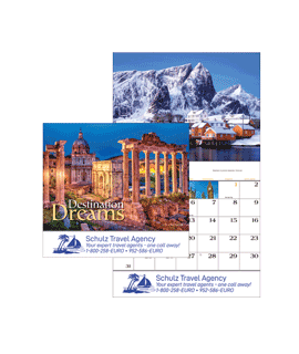 Destination Dreams Wall Calendars