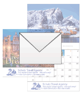 Destination Dreams Wall Calendar Envelopes