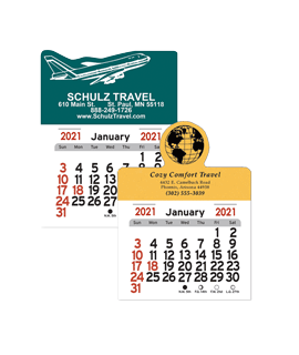 Travel Sticks Calendars