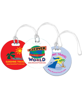 Full Color Bag ID Tags