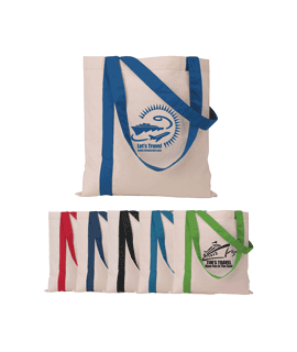 Color Striped Cotton Totes