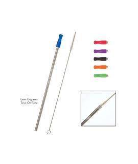 Stainless Straw & Brush