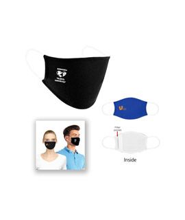 Flat Face Mask with Logo