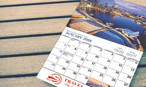 T-AA221 Destination Dreams Wall Calendars